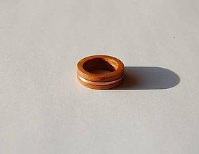 Prstene - Drevený prsteň 2 - predaný - 11108219_