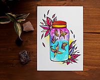 Kresby - Vo fľaštičke I. - 11108201_