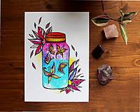 Kresby - Vo fľaštičke I. - 11108203_