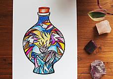 Kresby - Vo fľaštičke II. - 11108250_