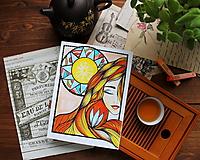 Kresby - Slnko v duši - 11108303_