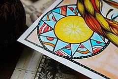 Kresby - Slnko v duši - 11108306_