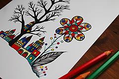 Kresby - Odkvitá svet - 11108375_