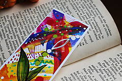 Papiernictvo - Farby jesene - sada záložiek - 11108471_