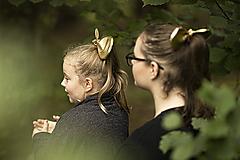 Detské doplnky - Malá zlatá myška - 11106536_