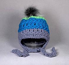 Detské čiapky - Čiapka B - 11108790_