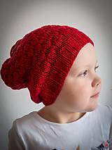Detské čiapky - Šmolková čiapka - 11109180_