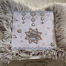 """Papiernictvo - Detský album pre dievčatko """"Ľadové kráľovstvo"""" - 11087720_"""