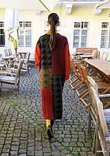 Kabáty - VITKA-pletený kabát-vícebarevný - 11106607_
