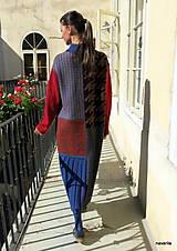 Kabáty - VITKA-pletený kabát-vícebarevný - 11106612_