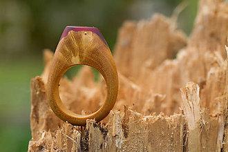 Prstene - Prsteň Purpureum Rosa - 11108960_