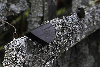 Odznaky/Brošne - Brošňa z čierneho uhlia - 11105615_