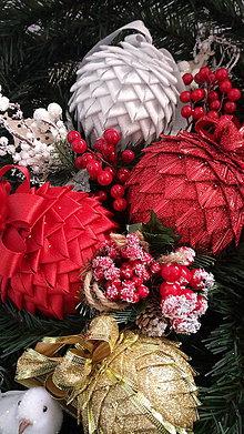 Dekorácie - Gule na stromček - 11109446_