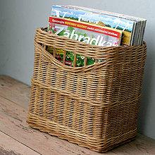 Košíky - košík na časopisy - 11107663_