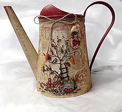 Nádoby - Krhlička jeseň v záhrade - 11109297_