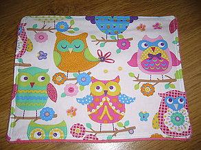 Textil - Mojkací vankúšik sovička - 11107705_