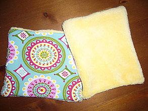 Úžitkový textil - Odličovacie-čistiace podušky - 11108182_