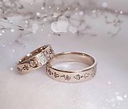 Prstene - Rozprávkové obrúčky - 11108254_