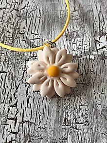 Náušnice - sedmokrásky (AKCIA! náhrdelník) - 11105802_