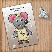 Papiernictvo - Zápisník pre skutočnú Myšš - 11107376_