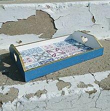 """Nádoby - Tácka """"Maroko Blue"""" - 11112666_"""