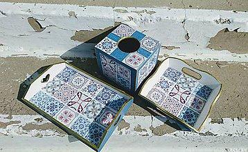 "Krabičky - Sada ""Maroko Blue"" - 11112719_"