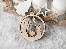 Dekorácie - Vianočná ozdoba Betlehem - 11112282_