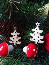 Polotovary - Drevený Výrez stromček - 11111152_