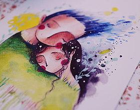 Grafika - Spolu rastieme (A4) - 11112450_