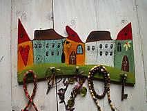 Nábytok - Domčekový vešiak - 11110122_