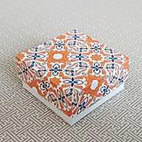 Obalový materiál - Krabička darčeková ornament - 11113012_
