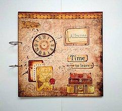 Papiernictvo - Fotoalbum 30x30 cm - 11111403_