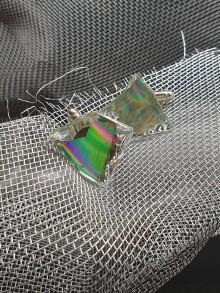 Šperky - Recyklované CéDečko - manžetové gombíky - 11113097_
