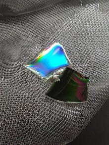 Šperky - Recyklované CéDečko - manžetové gombíky - 11113377_