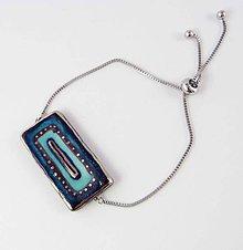 Náramky - Tana šperky - keramika/platina - 11110263_