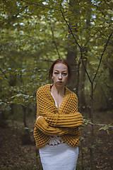 Svetre/Pulóvre - Žltý sveter - 11110453_