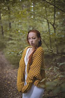 Svetre/Pulóvre - Žltý sveter - 11110454_