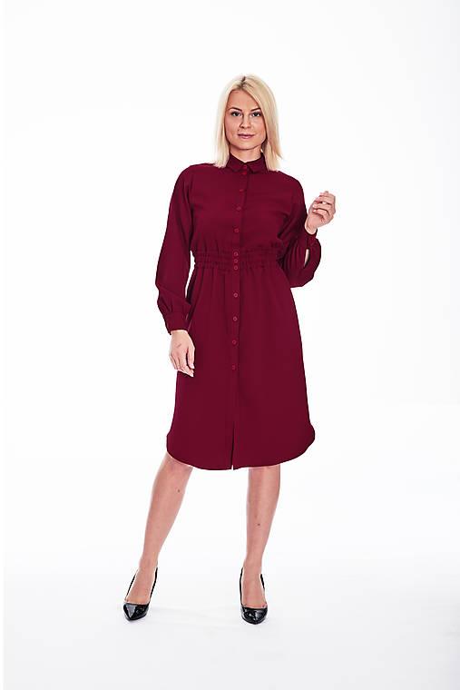 Šaty - Košeľové šaty - 11111054_
