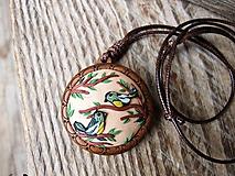 Náhrdelníky - Náhrdelník vtáčiky - 11110570_