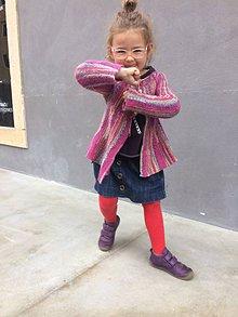Detské oblečenie - svetrik pre dievcatko - 11111327_