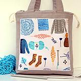 """Iné tašky - Tvoritaška """"Milujem vlnu"""" ~ projektová taška - 11112255_"""