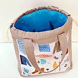 """Iné tašky - Tvoritaška """"Milujem vlnu"""" ~ projektová taška - 11112256_"""