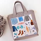 """Iné tašky - Tvoritaška """"Milujem vlnu"""" ~ projektová taška - 11112264_"""