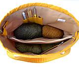 """Iné tašky - Tvoritaška """"Milujem vlnu"""" ~ projektová taška - 11112266_"""