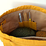 """Iné tašky - Tvoritaška """"Milujem vlnu"""" ~ projektová taška - 11112270_"""