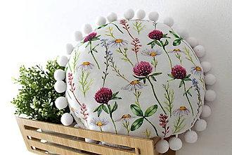 Úžitkový textil - Vankúšik ďatelinka - 11112626_