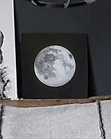 """Obrazy - Obraz """"Strieborný mesiac"""" - 11113141_"""