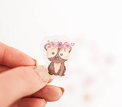 Papier - Maľované nálepky, rôzne druhy - 11112443_