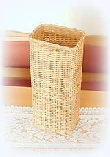 Košíky - košík  - prírodný v 50 - 11111417_