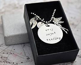 Náhrdelníky - Tvoj anjel strážny - ochranný náhrdelník - 11111637_